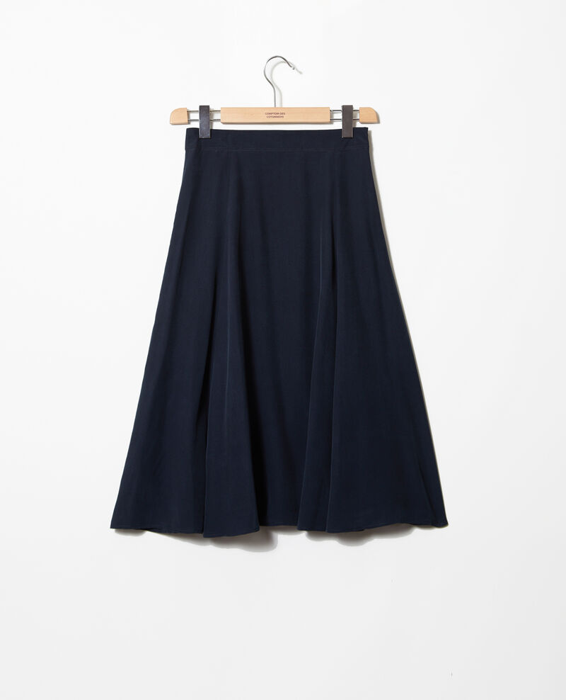 Rock mit hoher Taille Ink navy Ian