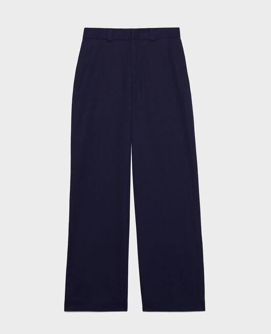 Maskuline Hose aus Baumwolle MARITIME BLUE