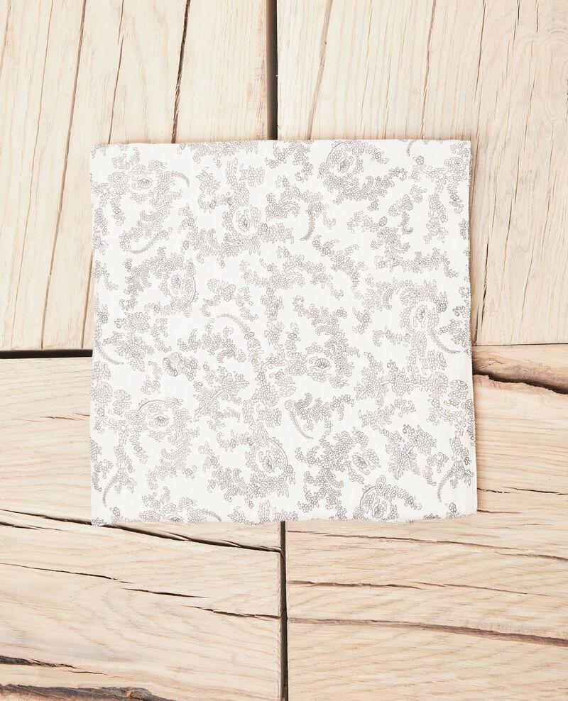 Foulard imprimé Bandana light beige Ispring