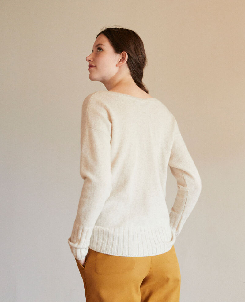 Pullover aus Kaschmir Silver gray Guerin