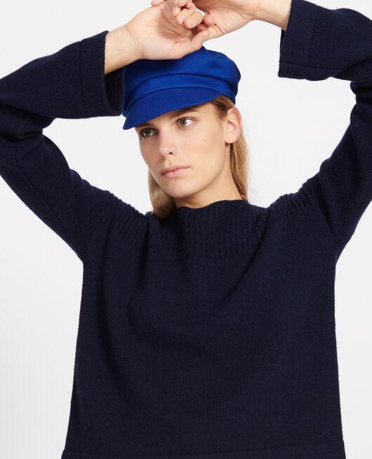 Pullover aus Wolle und Kaschmir MARITIME BLUE