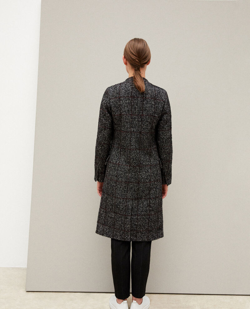 Kurzgeschnittener Mantel Schwarz Guislain