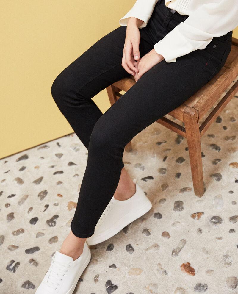 Skinny-Jeans Noir Iskibla