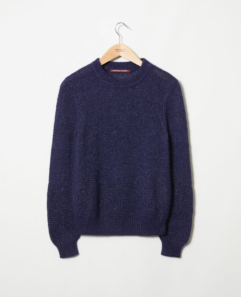 Pullover aus Zierstrick Evening blue Jaheim