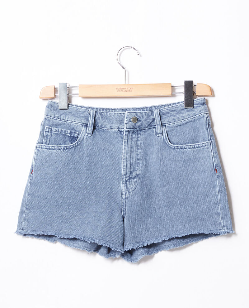 Fransen-Shorts Alpine blue Fintashort
