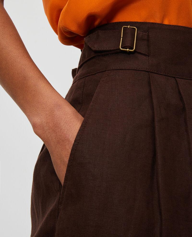 Shorts aus Leinen Mole Laudi