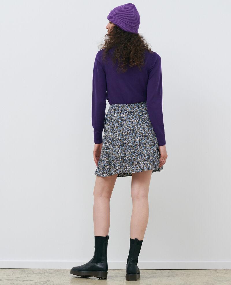 Pullover mit Rundhalsausschnitt aus Wolle Acai Passy