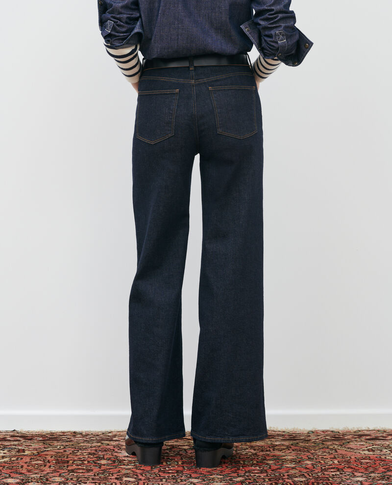 JEANETTE - FLARE - High-Waist-Jeans Rinse Peuplize