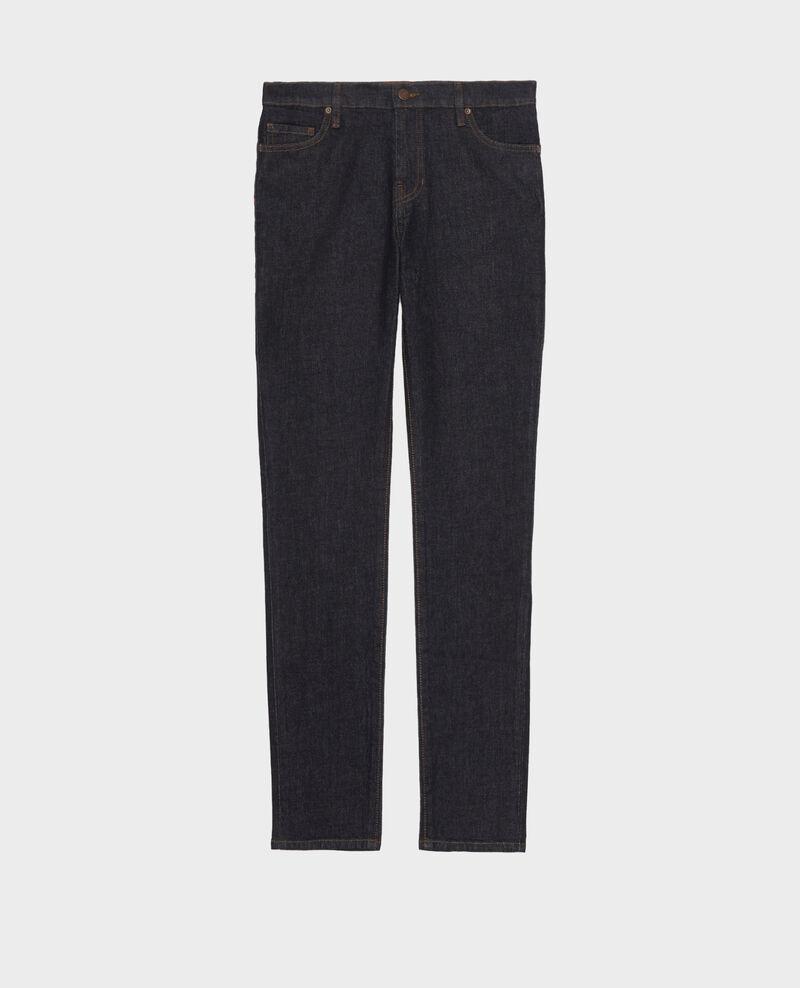 SLIM MID RISE - Jeans 5 Taschen Denim rinse Mandra