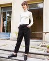 Jeans mit trendiger Passform Noir Jantone