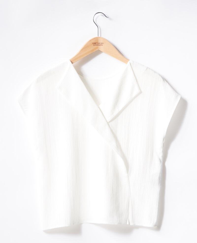 Top mit Rückendekolleté Off white Fevrier