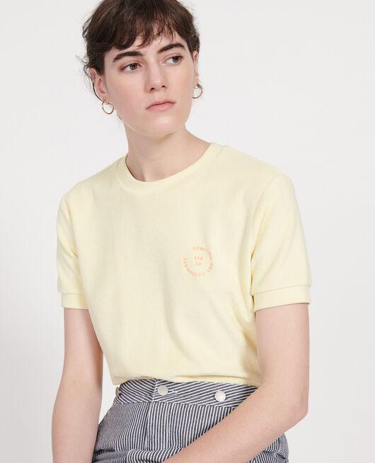 T-Shirt aus Baumwolle TENDER YELLOW