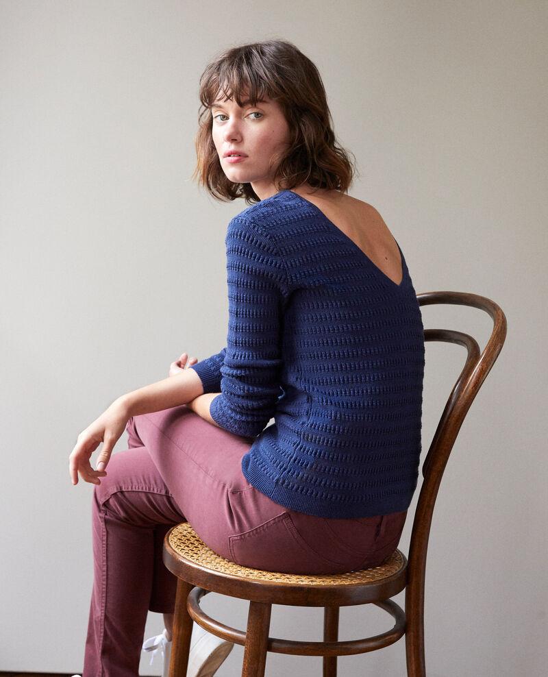 Wendebarer Pullover Peacoat Grant