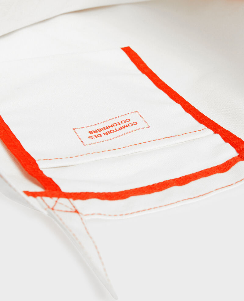 Tasche aus gemustertem Segeltuch Valiant poppy Macaron