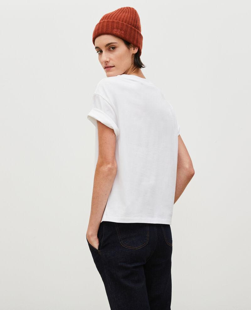 T-Shirt aus Baumwolle mit kurzen Ärmeln Pastel lilac Mariette