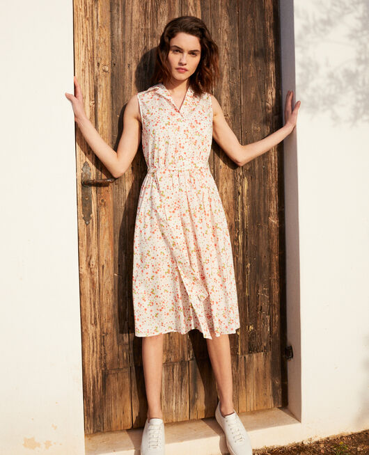 Kleid mit offenem Kragen PRIMULA OW