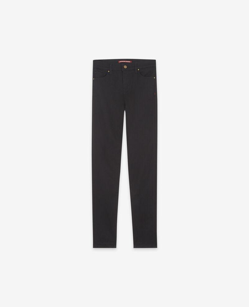 Regular Skinny-Jeans Schwarz Dorm
