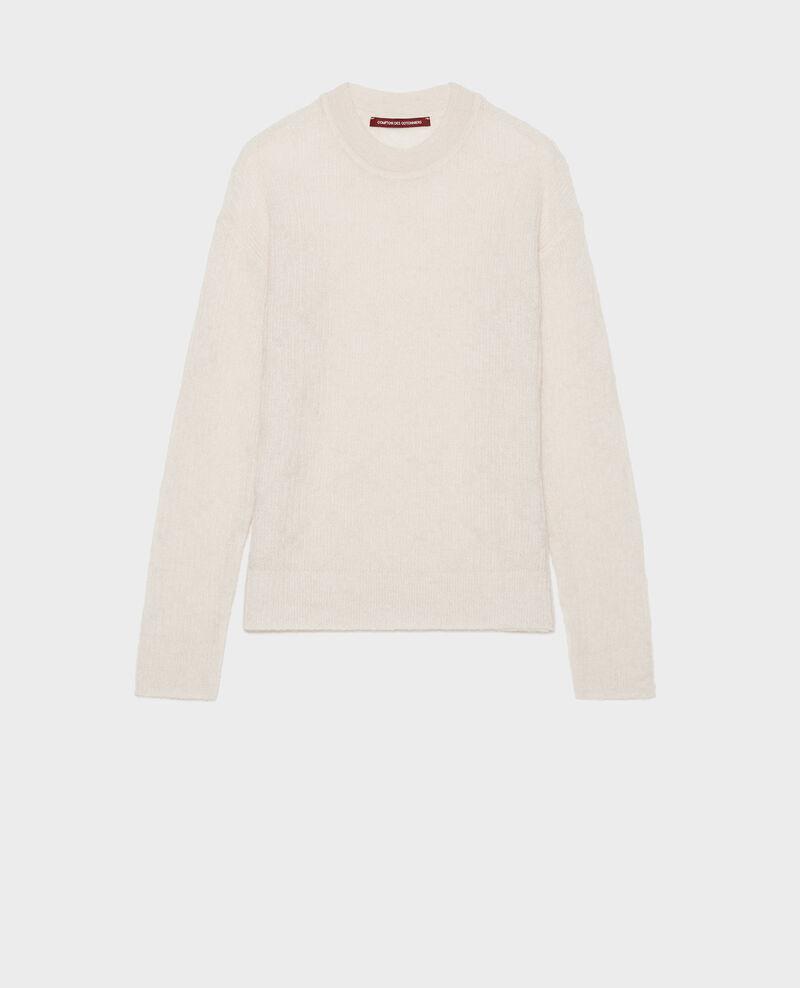 Pullover aus Baby-Alpaka Buttercream Lilirose
