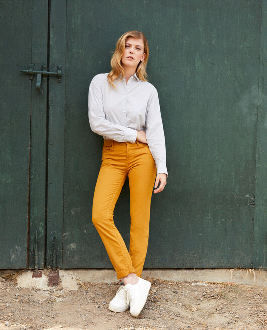 Slim-Jeans GOLDEN BROWN