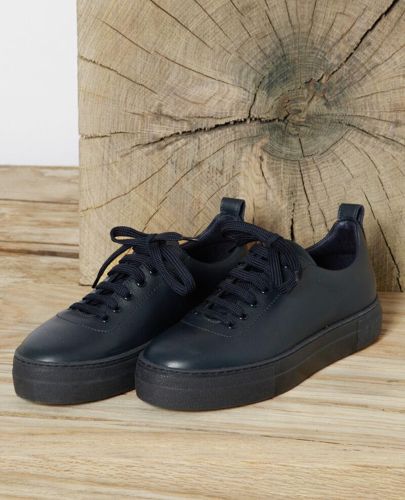 Plateau-Sneakers Peacoat Gina