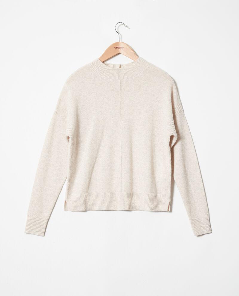Pullover mit Knöpfen im Rücken Buttercream Jook