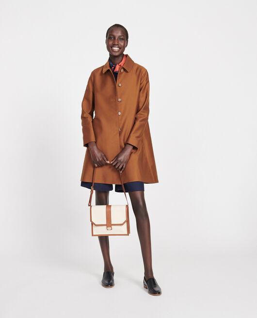 Mantel aus Baumwolle Marron