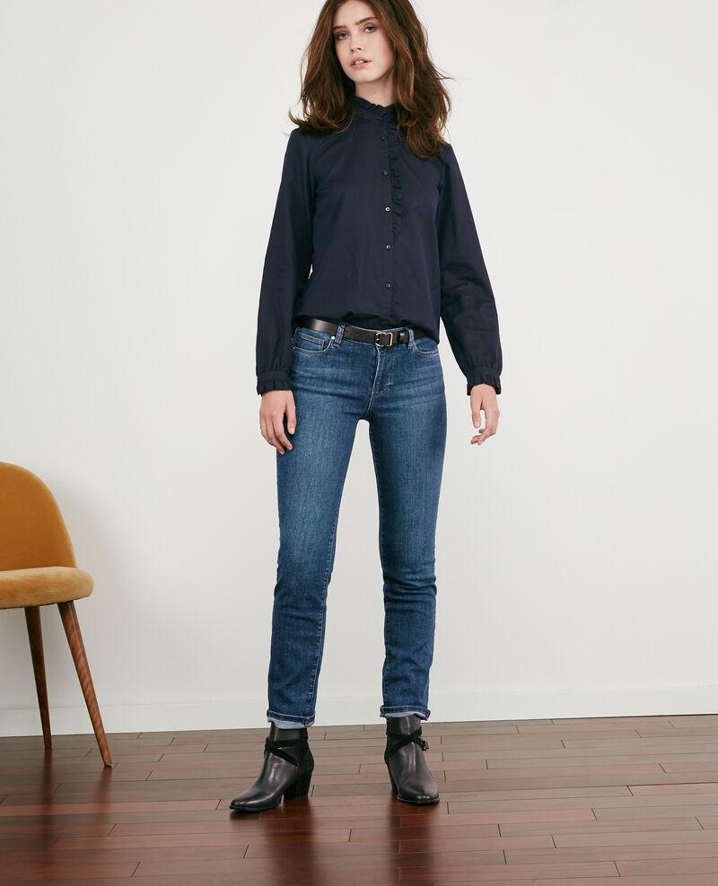 Jeans in Zigarettenform Indigo dark Distingue