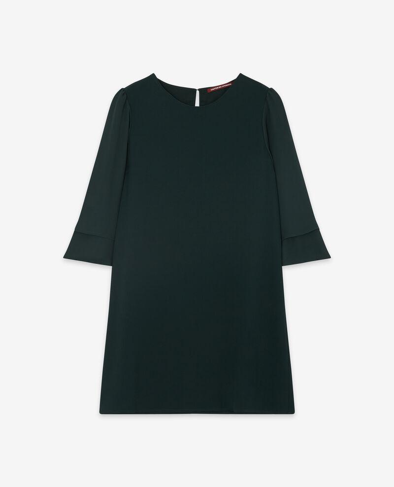 Kleid mit ausgestellten Ärmeln Deep green Dolita