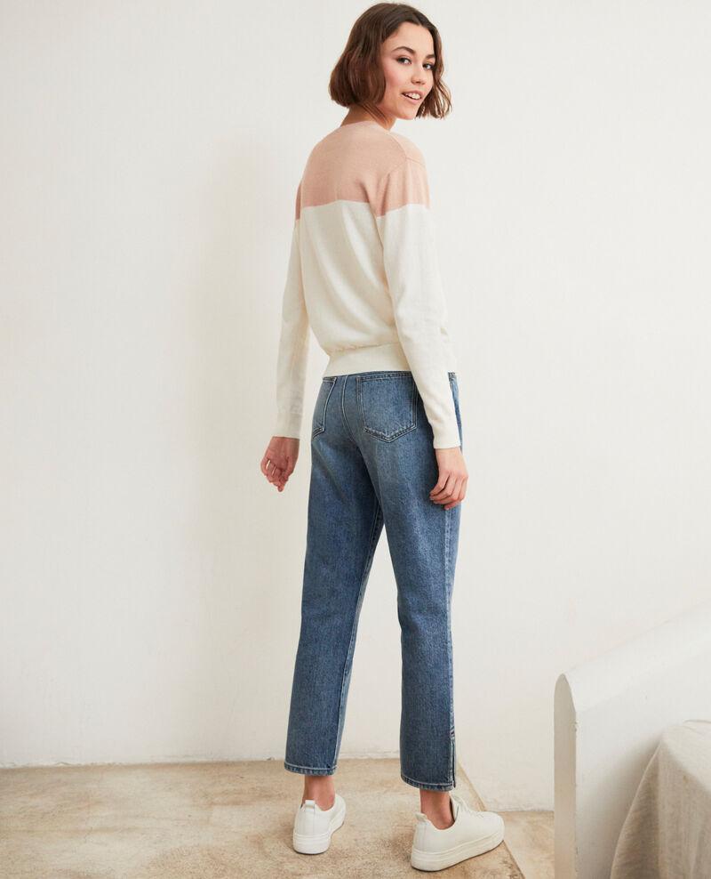 Straight-Jeans mit Schlitz Vintage wash Istro