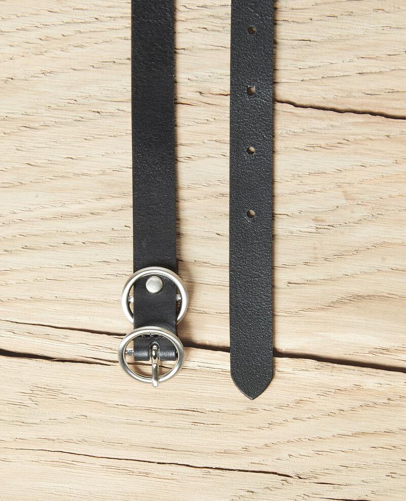 Ledergürtel Noir Idoubli
