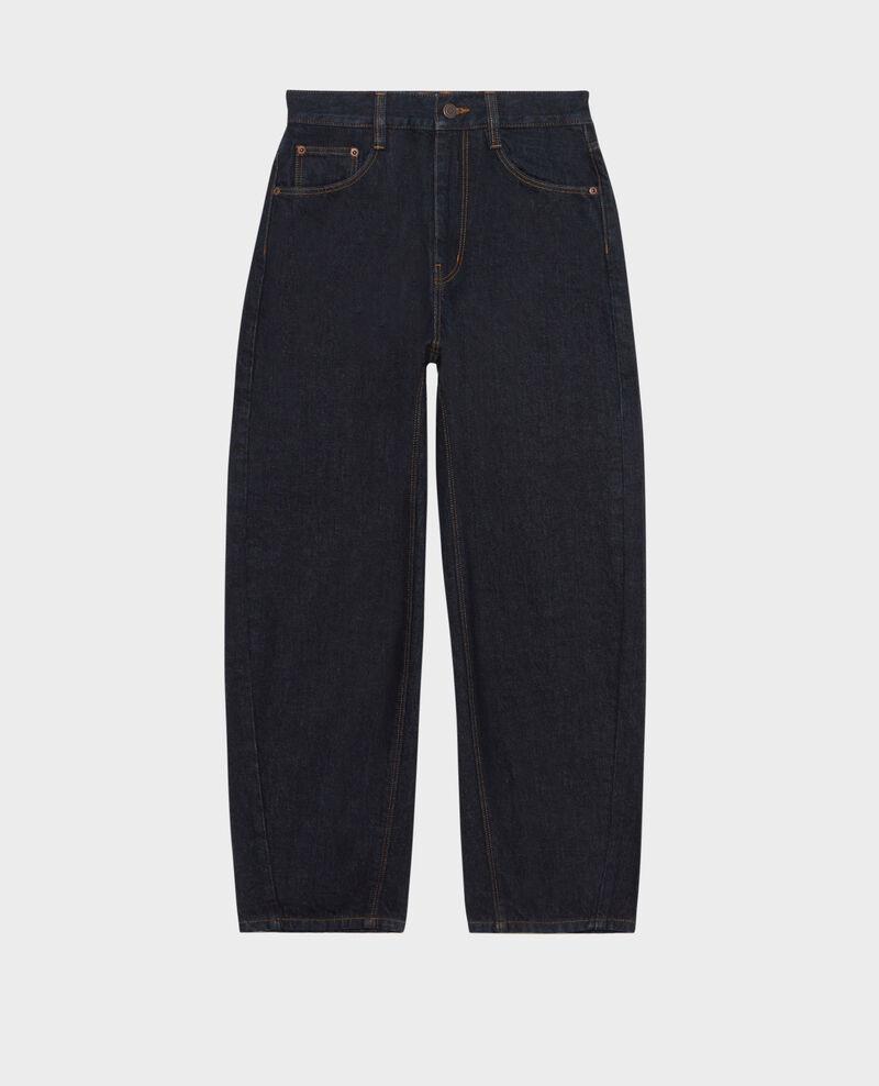 SIDONIE - BALLOON - Weite 7/8-Jeans mit hoher Taille Denim rinse Palloon