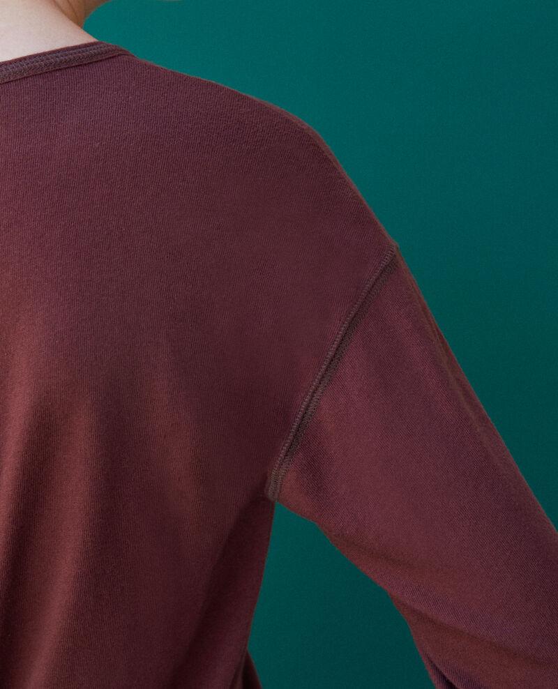 T-Shirt aus Baumwolle Decadente chocolate Gonia