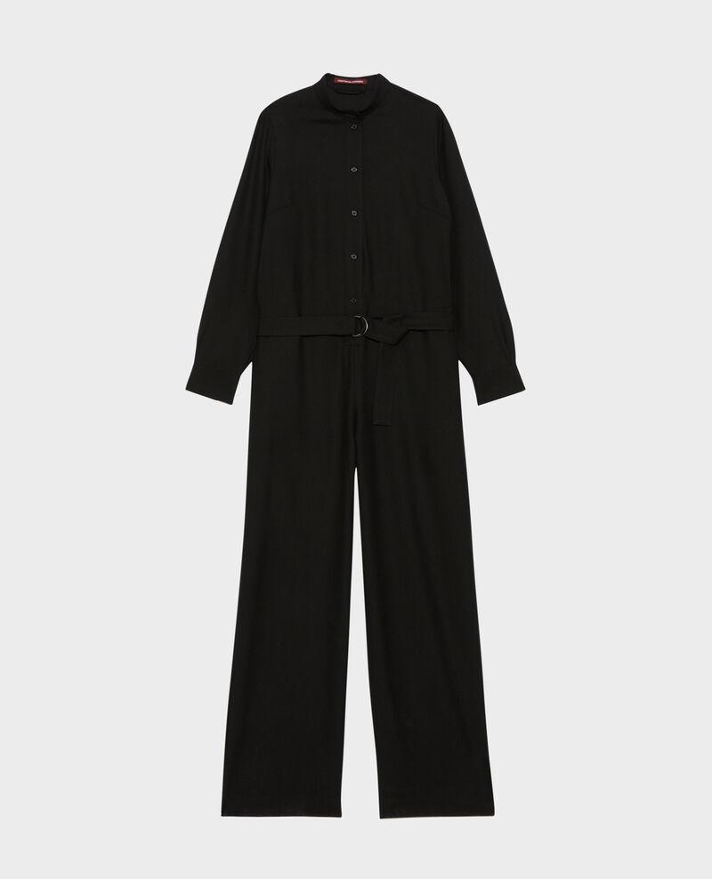 Jumpsuit aus Wolle Black beauty Pampelune