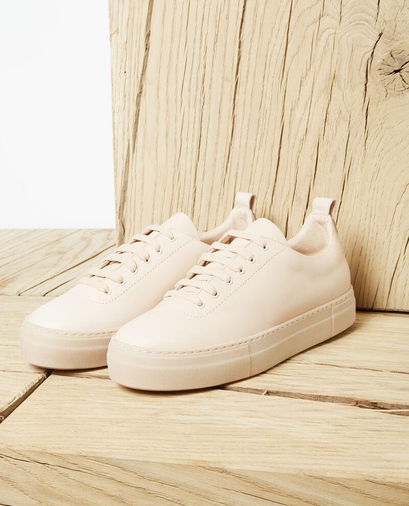 Plateau-Sneakers Pink beige Iginas