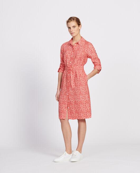 Kleid FEUILLAGE FIERY RED