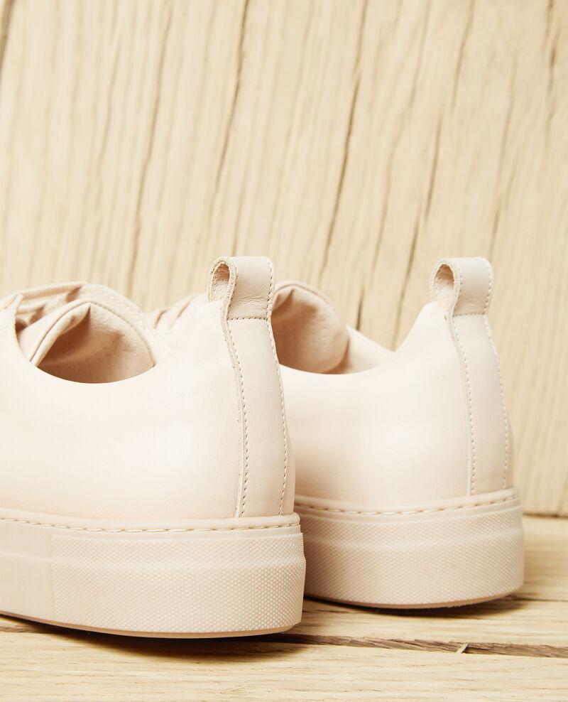 Plateau-Sneakers Beige Iginas