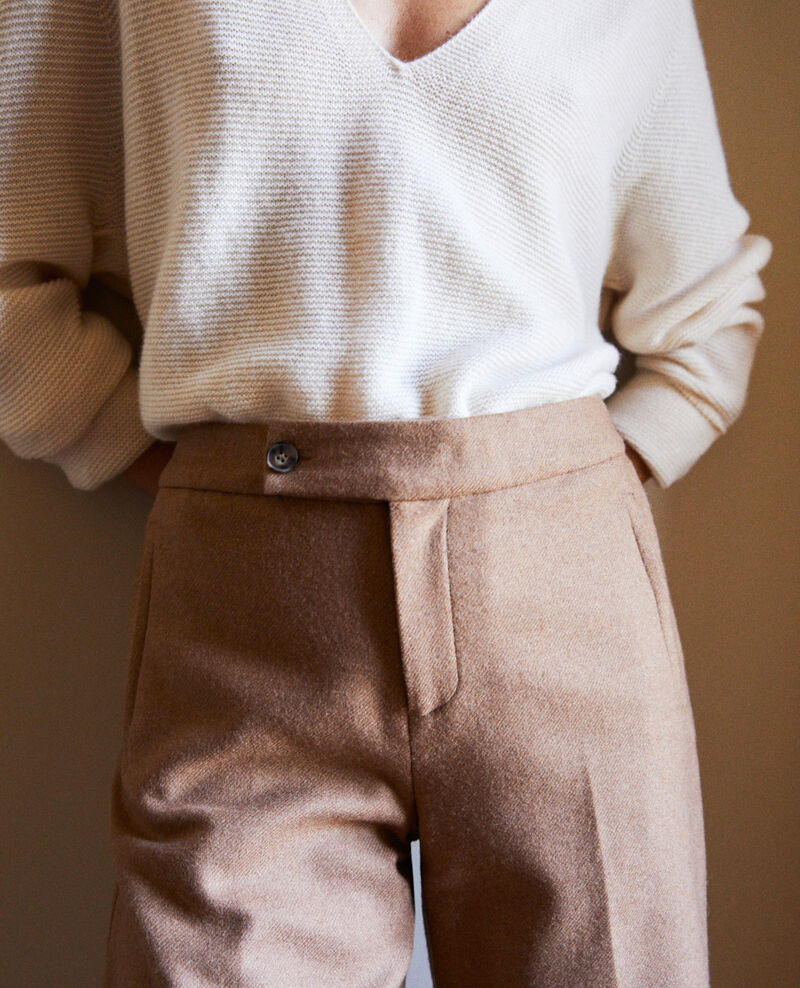 tailoring-Hose mit Wolle Camel Jermes