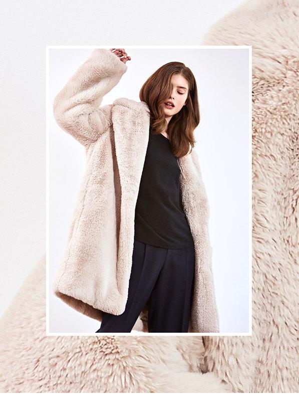 Look - Kaschmir-Pullover, Hose