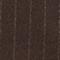 Überkreuzter Blazer aus Wolle Stripe coffee bean Muciano