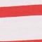 T-Shirt aus ägyptischer Baumwolle Stripes optical white fiery red Lisou