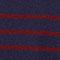 Pullover im Marinelook aus 100 % Kaschmir Evening/cabernet Jolimer
