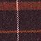 Schal mit Schottenmuster Burgundy Jecossai
