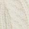 Strickmütze mit Zopfmuster Off white Jibonnet
