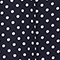Rock aus 100 % Seide Dots maritime blue Lonna