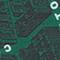 Quadratisches Seidentuch Military green Mamap