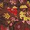 Kurzes Wickelkleid aus Seide mit Flowerprint Print eden tortoiseshell Meanie