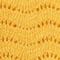 Pullover aus Zierstrick 100% Merinowolle Spicy mustard Jikael