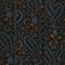 Langes Seidenkleid Paisley blue Paarsa