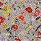 Wickelbluse aus Seide mit Flowerprint Print eden cream Mirebeau