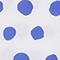 Gepunktetes Boxy T-Shirt aus Baumwolle Dots amparo blue Lenoyer